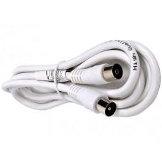 Антенный кабель вилка - розетка, 1,8м