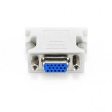 Адаптер (переходник) VGA розетка / DVI-I вилка (DVI 24+5 male на VGA 15 HD) Cablexpert