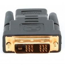 Адаптер (переходник) HDMI розетка / DVI-D вилка золотые разъемы Cablexpert