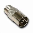 Адаптер (переходник) F-вилка / антенная розетка