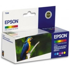 Картридж Epson T008 (о) для Epson Stylus Photo 785/790/870/875DC/890/895/915 цветной АКЦИЯ!!!