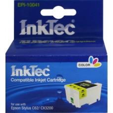 Картридж Epson T041 цв (Epson c62) InkTec