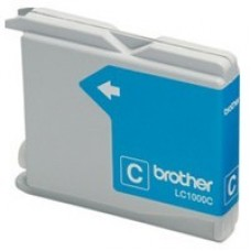 Картридж Brother LC1000C cyan for DCP-130/330/750CW/MFC-240C/660CN/3360C/5460CN 20m InkTec