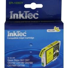 Картридж Epson T0634 жёлт (Epson с67/87) InkTec