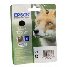 Картридж Epson T1281 black for S22/SX125/SX420W/SX425W/BX305F/ BX305FW (о)