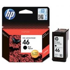 Картридж HP 46 чёрный CZ637AE (HP Deskjet 2020/2520) (o)