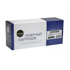 Картридж HP LJ Color CC530A CP2025/CM2320/Canon LBP-7200 Canon 718 3.5K чёрный NetProduct