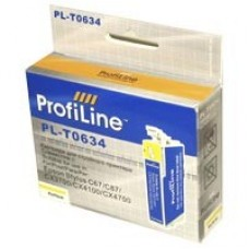 Картридж Epson T0634 жёлт (Epson с67/87) ProfiLine