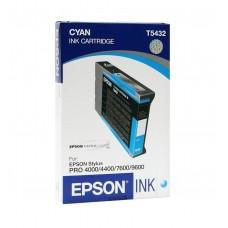 Картридж Epson T5432 (110ml)  cyan