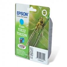 Картридж Epson T08224 (Epson R270/R290/RX 590) (o) cyan