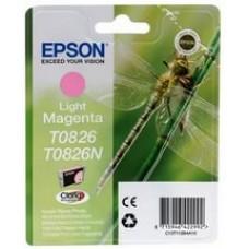Картридж Epson T08264 (Epson R270/R290/RX 590) (o)  light magenta без упаковки
