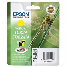 Картридж Epson T08244 (Epson R270/R290/RX 590) (o) yellow