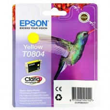 Картридж Epson T0804 yellow (Epson P50/PX660/700W/800FW/R265/RX 560) (o)  без упаковки