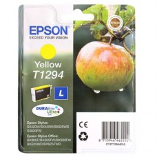 Картридж Epson T1294 yellow for  SX230/235W/SX420W/SX425W/BX305F (O)