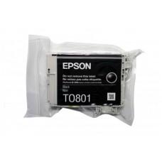 Картридж Epson T0801 black без коробки (Epson P50/PX660/700W/800FW/R265/RX 560) (o)