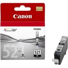 Картридж Canon CLI-521BK black PIXMA iP3600/4600/MP540/620/630/980 (9мл)