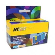 Картридж Canon CLI-521C cyan PIXMA iP3600/4600/MP540/620/630/980 (9мл) Hi-black