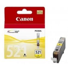 Картридж Canon CLI-521Y yellow PIXMA iP3600/4600/MP540/620/630/980 (9мл) (о)