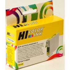 Картридж Epson T0734 yellow Hi-Black C79/C110/T40W/TX200/400/TX600FW