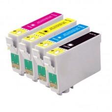 Картридж Epson T0735 4 цвета CX3900/CX3905/CX4900/CX4905/CX5900/CX6900F/C79B - Bk/С/М/Y+бумага БГ Colouring