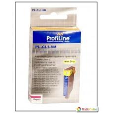 Картридж Canon CLI-8 magenta ProfiLine с чипом