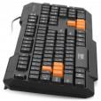 Клавиатура CBR KB-116, 106 кн. +1 доп., переключение языка 1й кнопкой (софт), USB, KB 116D