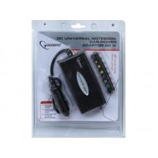Зарядное устройство Gembird NPA-DC1 12 В Универсальный д/ноутбуков 80Вт от прикуривателя
