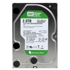 HDD 2Tb Western Digital <WD20EARX> 2000Gb, SATA3, 64Mb (Caviar Green)