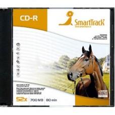 CD-R Smart Track 700\52x Slim (орёл,лошадь)
