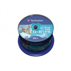 CD-R Verbatim 700Mb, 52-x