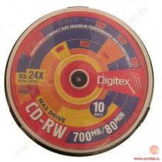 CD-RW Digitex 700Mb 4-12x