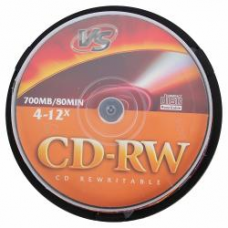 CD-RW VS 700Mb 4-12x