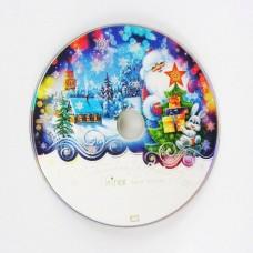 "DVD+R Mirex 4,7Gb 16x ""С Новым годом"" Cb-25"