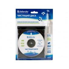 CD-DVD диск влажн.чистка лаз.оптики  Defender