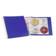 """Папка для хранения 96 CD """"Hi -Tech"""", синий/черный"""