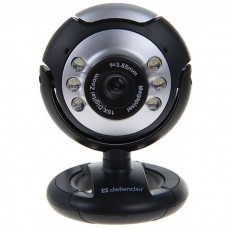 Вeб-Камера Defender С-110 0,3Мп, USB, подсветка, кнопка фото