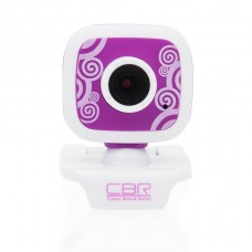 Вeб-Камера CBR CW-835M Purple  универс. крепление, 4 линзы, эффекты, микрофон