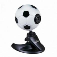 Вeб-Камера CBR CW110 Footballl, универс. крепление, 3 линзы, 1,3 МП, микрофон, CW 110